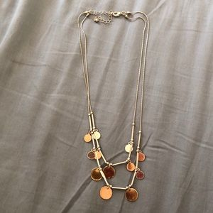 Jewelry - Layered mixed metals necklace
